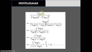 Tugas Video Logaritma kelas 10-2