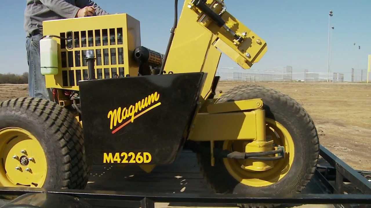 Magnum M-Series Big-Roll Installer