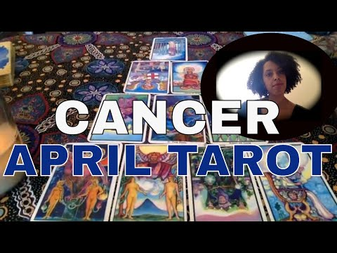 CANCER : APRIL MONTHLY TAROT:  SHEDDING UNNECESSARY WEIGHT