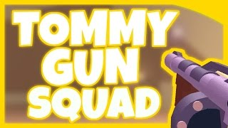 Roblox Combat League - Tommy Gun Squad! (With AgentC101)