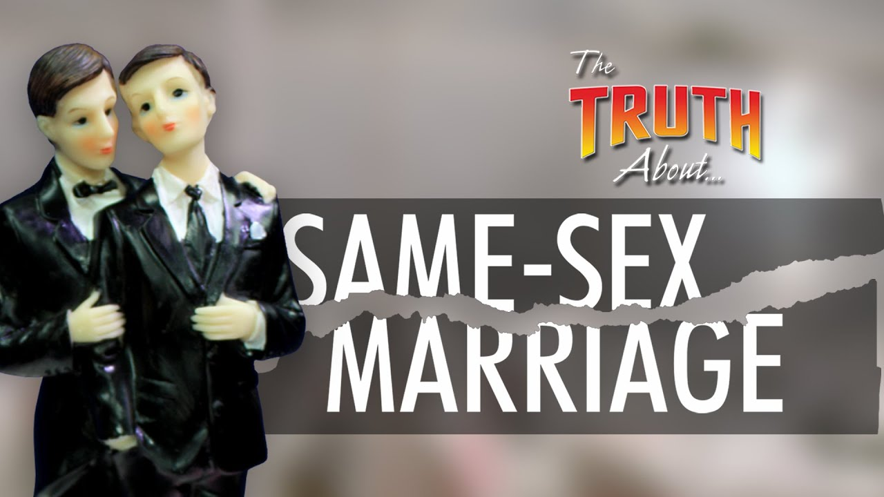 King porn the truth about same sex marriage running down