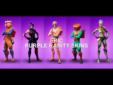 FORTNITE OUTFITS - ALL EPIC SKINS