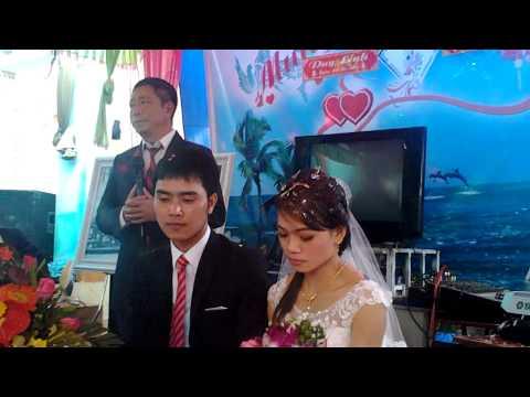 Đám cưới Linh Nguyễn - Đại diện nhà gái phát biểu