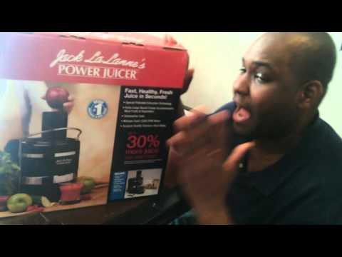 Jack Lalanne Power Juicer Unboxing
