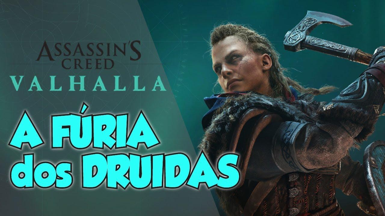 Gameplay e Opinião -  Assassin's Creed Valhalla - A Fúria dos Druidas