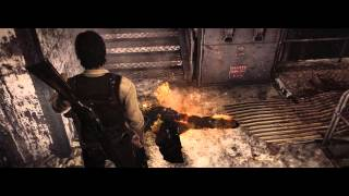 The Evil Within Chapter 5 walkthrough PT3 - Sometimes you just gotta burn a girl