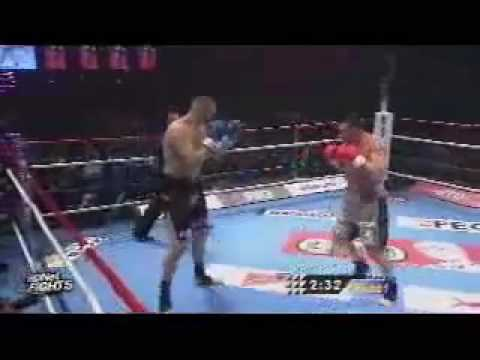 Jerome Le Banner vs. Semmy Schilt, K-1 WORLD GP FINAL 2009