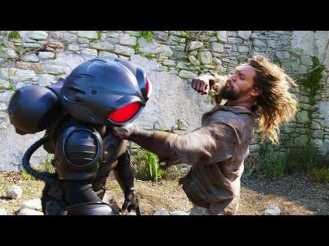 Aquaman Vs Black Manta. Sicily | Aquaman [4k, HDR]