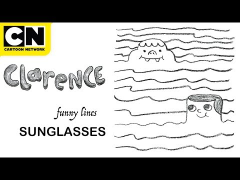 Clarence | Funny Lines with Clarence and Jeff | Sunglasses | Cartoon Network | CN Mini