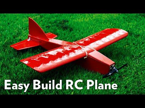 "Balsa Made Easy? ""Sharkface"" RC Sports Airplane - Review & Flight Testing"