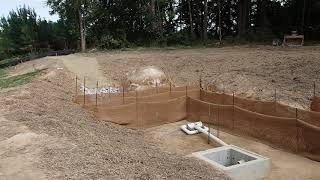 Finishing The Silt Pond And A Job Update