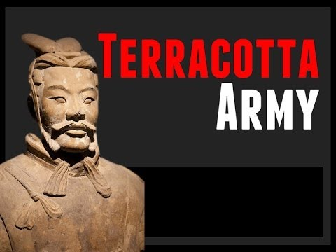 China Travel Documentary: Terracotta Army, Footage of the Terracotta Warriors and Horses, Shaanxi.