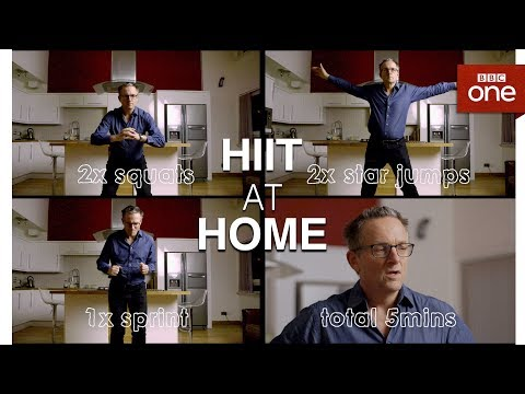 HIIT at home The Truth About Getting Fit BBC One