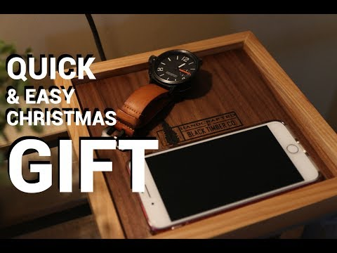 Quick and Easy Woodworking Christmas Gift