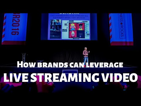How brands can leverage live streaming video?  Brian Fanzo