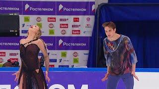 Произвольный танец Юниоры Танцы на льду Кубок России по фигурному катанию 2020 21 Пятый этап