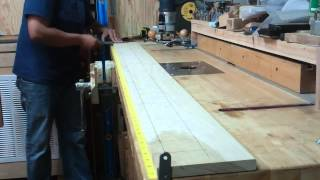 How To Accurately Straighten Your Speargun Wood - Build A Table Saw Straightening Jig