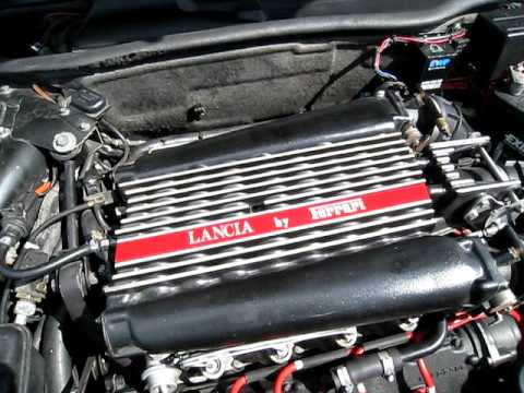 lancia thema 3.2 engine - youtube