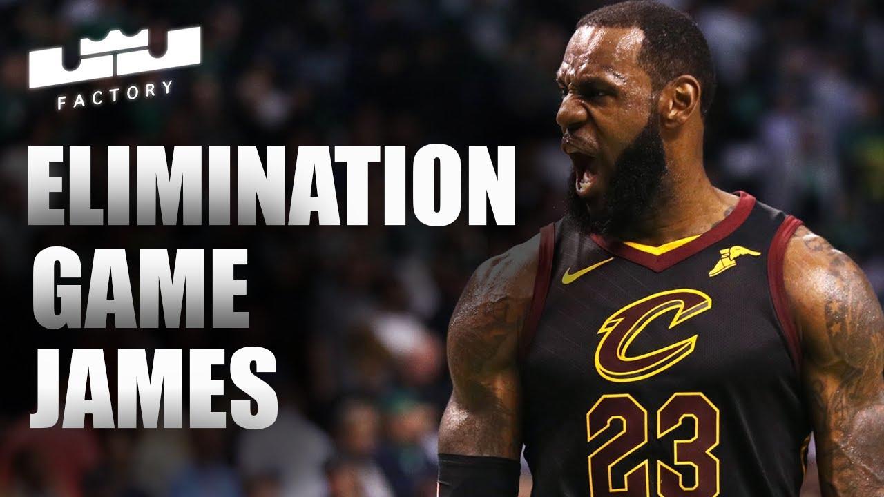 LeBron James Greatest Elimination Player Ever!