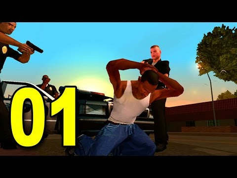 Grand Theft Auto: San Andreas - Part 1 - Welcome to Los Santos (GTA Walkthrough / Gameplay)
