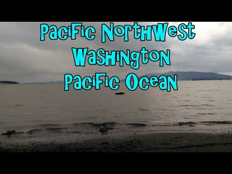 Pacific Northwest Washington State Pacific Ocean April 2017