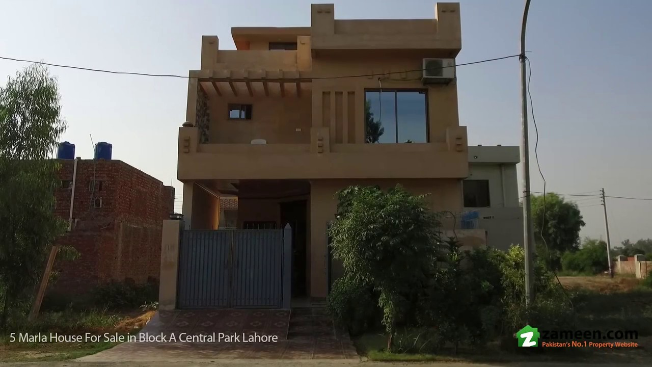 5 marla double unit house is available for sale in block a central park housing scheme lahore