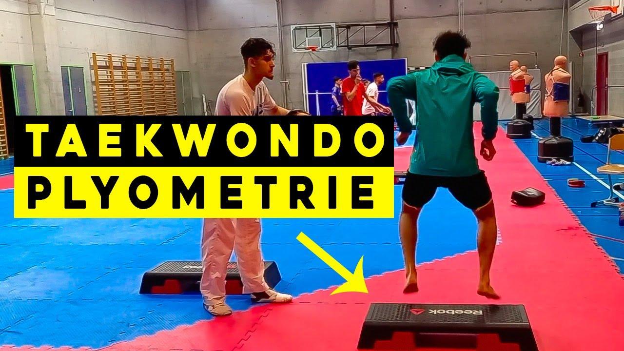 Practice 13 : Plyometric Taekwondo Training 🔥 Jaouad Achab
