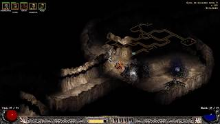 Diablo 2 lord of destruction Gameplay cap 7 Entramos en el cubil del gusano xd