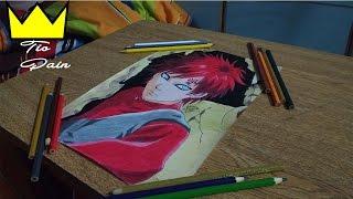 Gaara - Speed Drawing ( anime Naruto ) #3