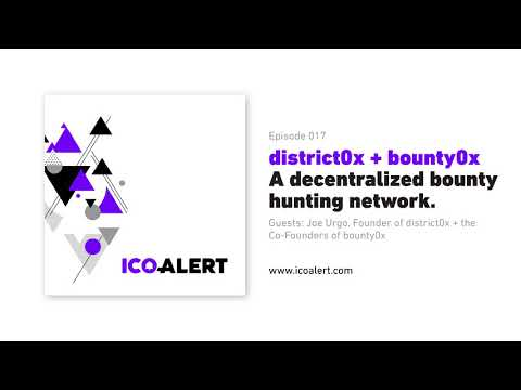bounty0x (+district0x) - A decentralized bounty hunting network.