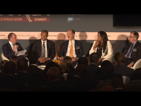 Moise KATUMBI and Isabel DOS SANTOS FT Africa Summit 2017 London 09 Oct 2017