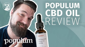 Populum Full-Spectrum Hemp CBD Oil Review - Will It Help You Sleep?