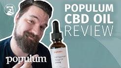 Populum Full-Spectrum Hemp CBD Oil Review - Will It Help You Sleep?