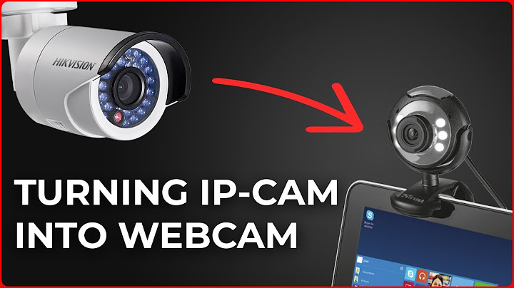 make webcam from ip camera for video conferences in zoom skype teams meet  universal method