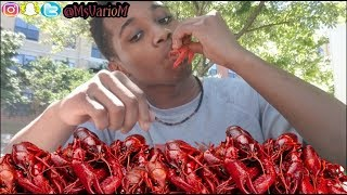 Crawfish Boil Mukbang(Part 1-Son Edition) Inspired By FunnyMike Crawfish & RunikTV Mukbang| CRAWFISH