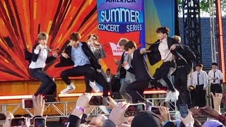 190515 Fire Soundcheck Rehearsal BTS Good Morning America GMA Summer Concert New York City