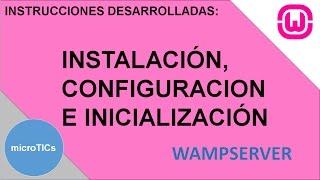 Instalación de WampServer (Apache, MySQL, PHP)