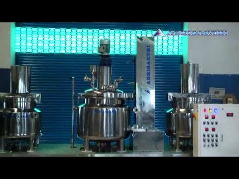 Creams / Ointment / Hair Oil / Gel / Tooth Paste / Lotion / Shampoo / Cosmetics Manufacturing Plant