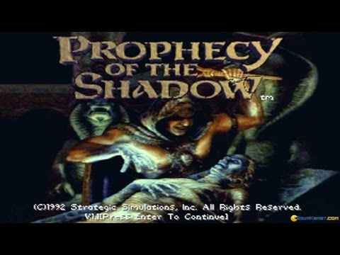 Prophecy of the Shadows gameplay (PC Game, 1992) thumbnail