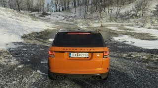 Forza Horizon 4 - 2015 LAND ROVER RANGE ROVER SPORT SVR - OFF-ROAD in snow - 1080p60FPS