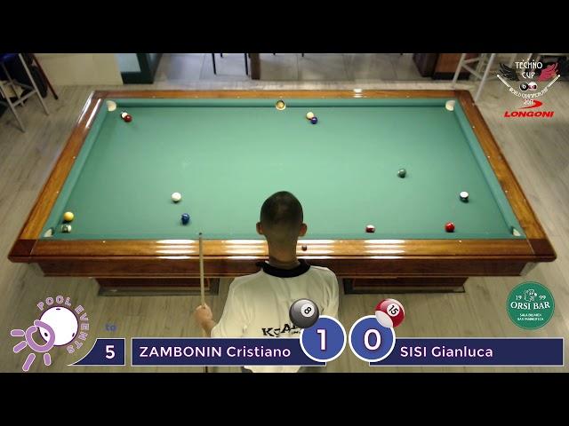 ZAMBONIN Cristiano vs SISI Gianluca