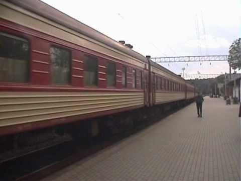 リトアニア 鉄道の旅