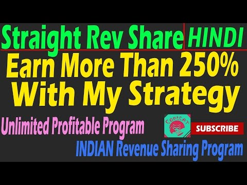 HINDI - EARN More Than 250% , PAYMENT PROOF- Straight Rev Share.com (SRS)