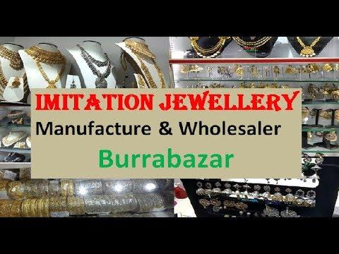 Imitation Jewellery Manufacture & Wholesaler Burrabazar - kOLKATA