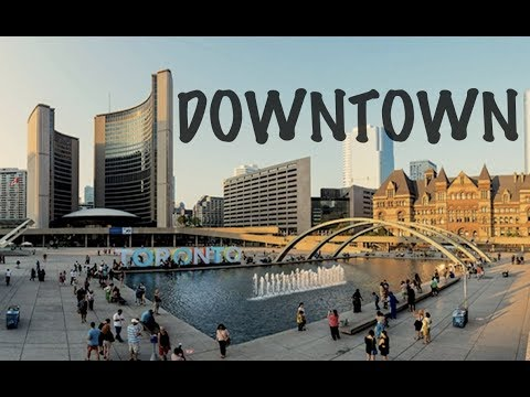 Downtown Toronto | Nathan Phillips Square, Air Canada Centre (Apurva Patel)