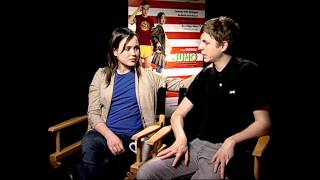 Video Juno: Ellen Page & Michael Cera Exclusive Movie Interview download MP3, 3GP, MP4, WEBM, AVI, FLV Agustus 2018