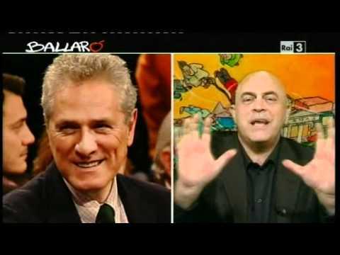 Maurizio Crozza - L'Italia paralizzata - Ballarò 24/01/2012