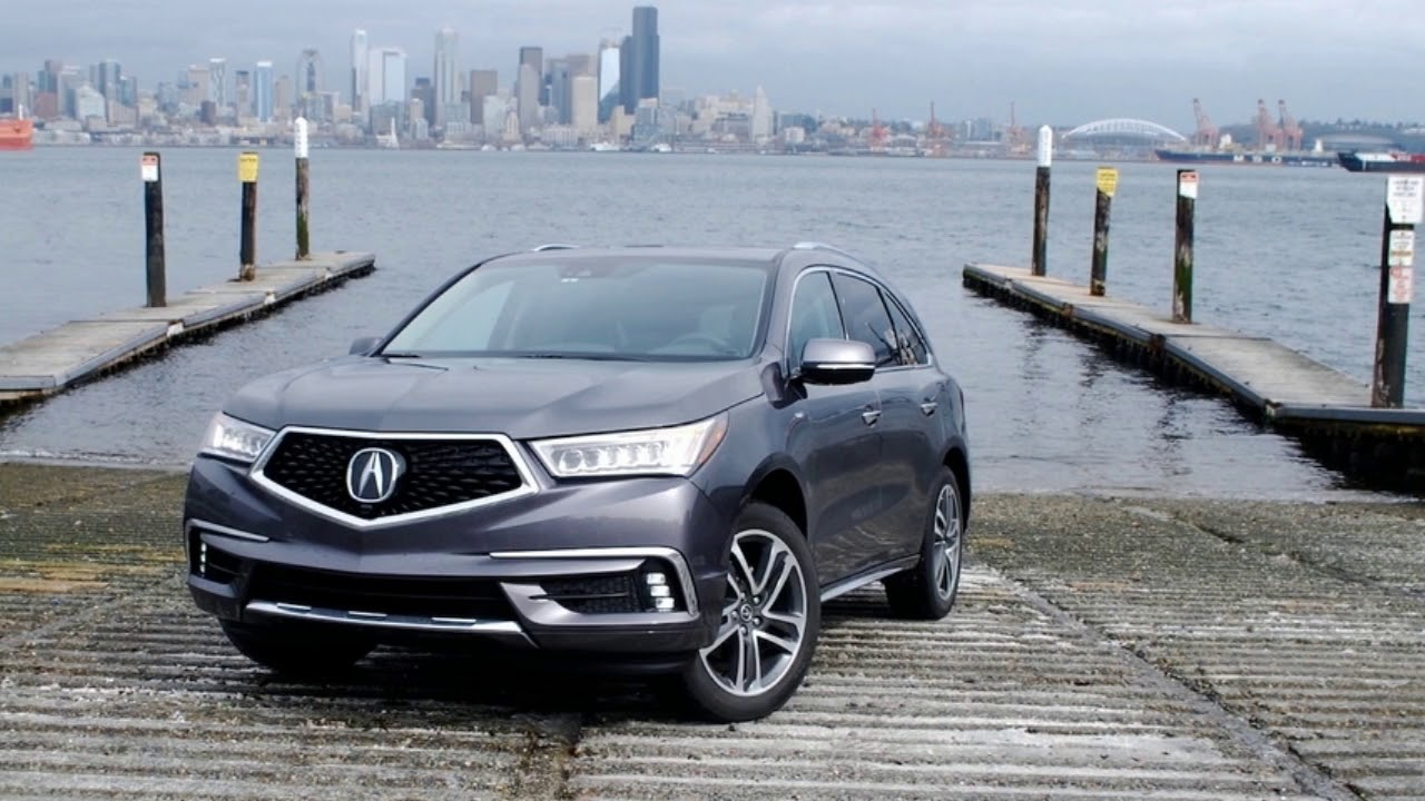 First Review Acura Mdx Sport Hybrid Is A Good Thing Made More