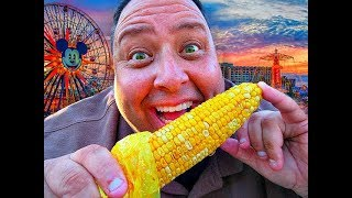 Disneyland's® Chili Lime Corn on the Cob Review!