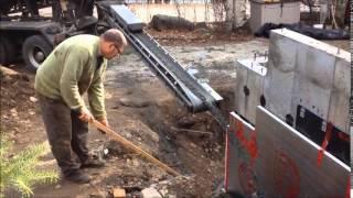 Kash Garage Construction Foundation